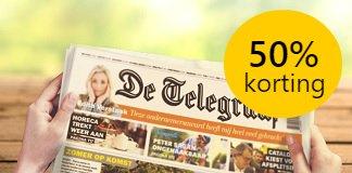 de-telegraaf-zaterdag-aanbieding
