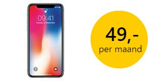 iphonex-aanbieding