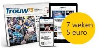 trouw75-krant