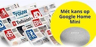 aanbieding-google-home-mini-krant