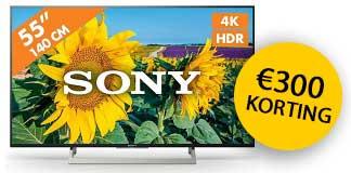 sony-tv-4k-aanbieding