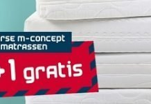beddenreus-1plus1-gratis