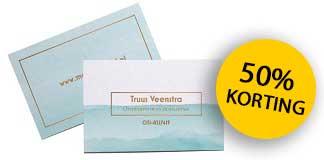 vistaprint-visitekaartjes-aanbieding