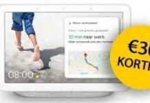 google-nest-hub-aanbieding