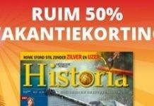 historia-vakantie-aanbieding