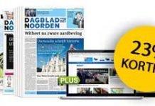 dagblad-van-het-noorden-weekend-aanbieding