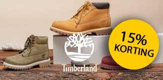 pubertad captura Escarpado  15% korting op Timberland schoenen - Aanbieding.nl
